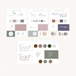 logo en huisstijl voor fotograaf