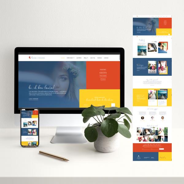 website voor fotografie
